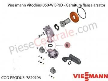 Poza Garnitura flansa arzator centrala termica Viessmann Vitodens 050-W BPJD