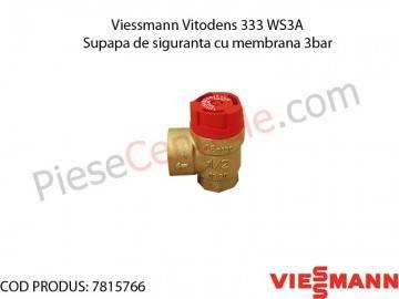 Poza Supapa de siguranta cu membrana 3 bar centrala termica Viessmann Vitodens 333 WS3A
