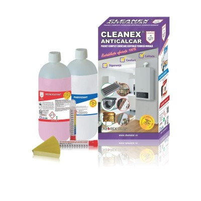Poza Pachet de curatare pentru centrale termice Cleanex Anticalcar. Poza 8040
