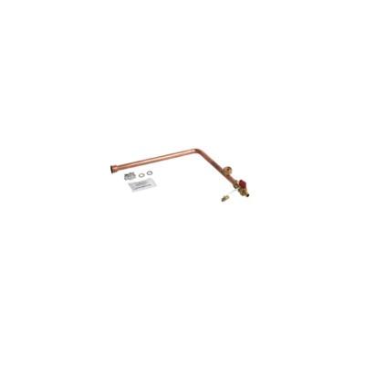 Poza Set conducte boiler centrala termica Viessmann Vitodens 333 WS3A. Poza 8139